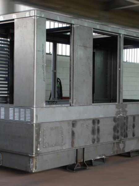 Cofani per generatori 800 KWA