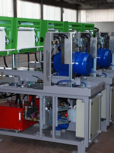 Banco di prova per pompe diesel